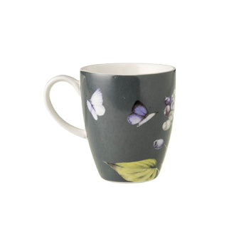 "Marjolein Bastin - Mug Blue Berry (Grey) ""Sketch of Nature"" 330mL"