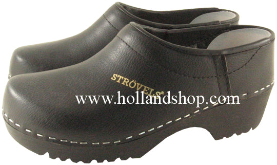Strovels Closed Rubber Black - European Size 46