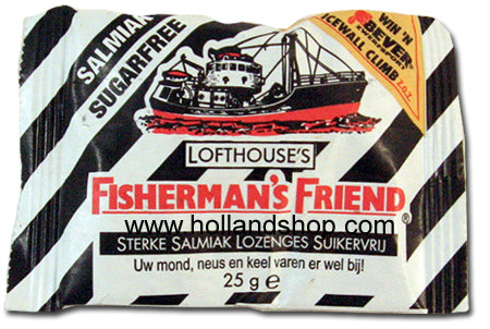 Fisherman's Friend Salmiak Sugar Free - 25gr.