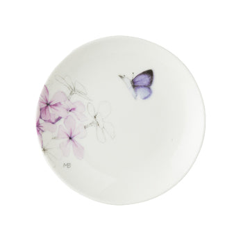 "Marjolein Bastin - Plate Tiny Flox 1 Butterfly (10cm) ""Sketch of Nature"""