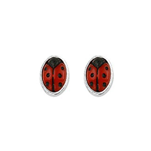 Ladybug Earrings - Stud (Tiny Bug)
