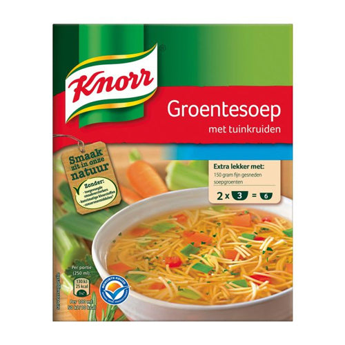 Knorr Vegetable Soup Duo - 2x31g.