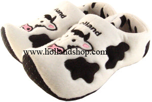 Slippers - Wooden Shoes -Cow - Size 25-30