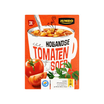 Jumbo Cup-A-Soup - Tomato - 3x19.4gr.