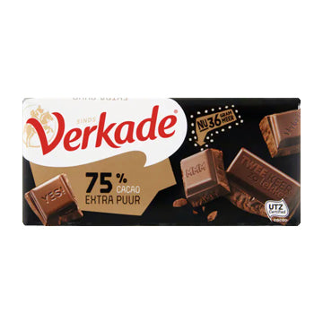 Verkade Extra Pure Chocolate Bar - 111gr.