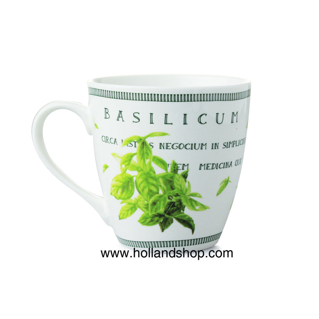 "Mug - Marjolein Bastin ""Nature"" - Basil in Gift Box"