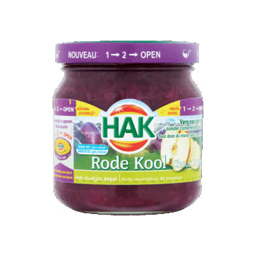 Hak Red Cabbage with Apple - 180gr