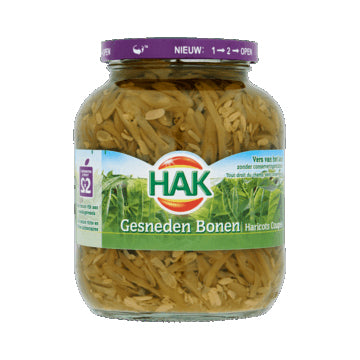 Hak Sliced Green Beans - 670gr