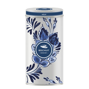 Dutch Floral - Rusk Tin