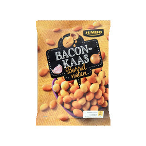 Jumbo Bacon/Cheese Borrelnootjes - 280gr.