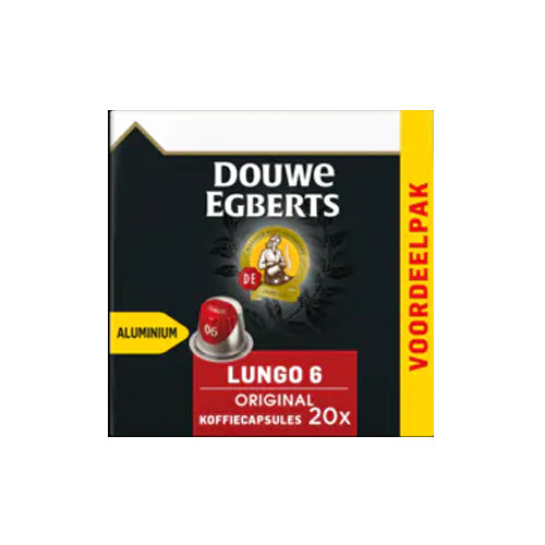 Douwe Egberts Nespresso Regular Roast - 20 pieces
