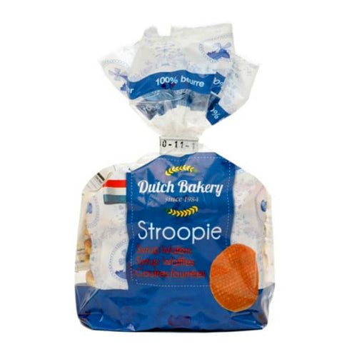 Dutch Bakery 100% Butter Stroopwafels - 252g.