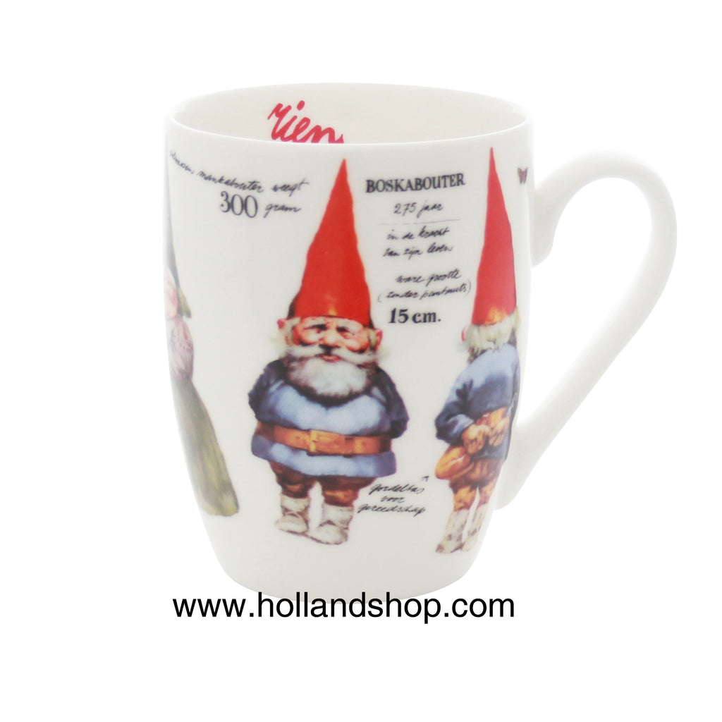 "Rien Poortvliet - Mug in Gift Box #4 (Wood Gnome) 330mL ""Gnomes"""