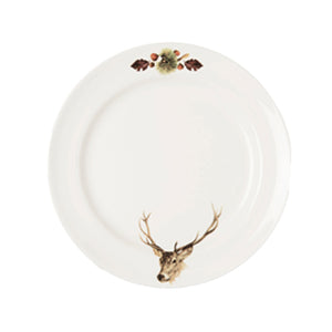 "Rien Poortvliet - Plate Stag (25.5cm) ""Game & Poultry"""