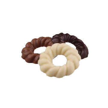 Rijkenburg Chocolate Wreaths (Mixed) - 150gr.