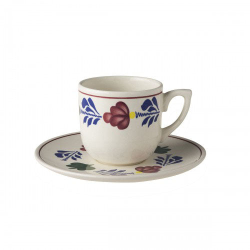 Boerenbont Cup & Saucer - Small Coffee 190mL