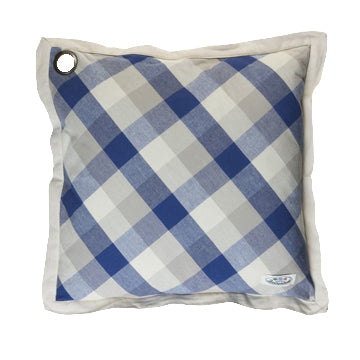 Boerenbont Pillow Cover - Blue Checkers (50x50cm)