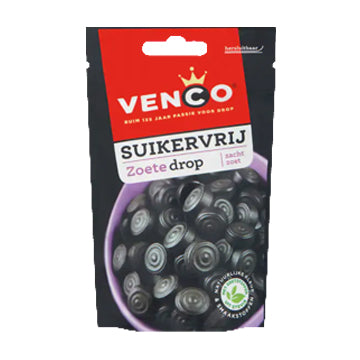 Venco Soft Sweet Drop Sugar Free - 100g.