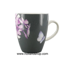 "Marjolein Bastin - Mini Mug Flox (Grey) ""Sketch of Nature""  210mL"