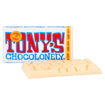Tony's White Chocolate Bar - 180gr.