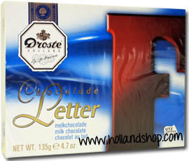Droste Chocolate Letter 'F' Milk - 135gr.