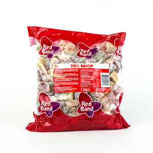 Red Band Sour Gummy Bears - 1kg.