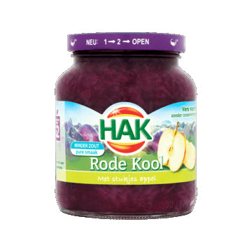 Hak Red Cabbage with Apple - 355gr