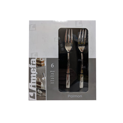 Cake Forks - Amefa Palmon #8410 (Set of 6)