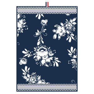 Dutch Floral - Tea Towel with Flowers (50x70cm)