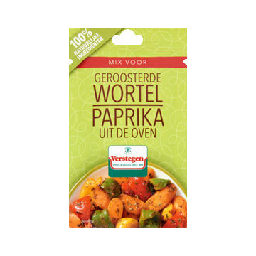 Verstegen Carrot Spice Mix with Paprika - 13g.