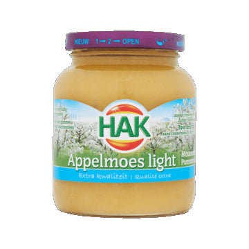Hak Apple Sauce - Light - 350gr
