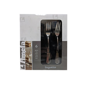 Cake Forks - Amefa Baguette #8440 (Set of 6)
