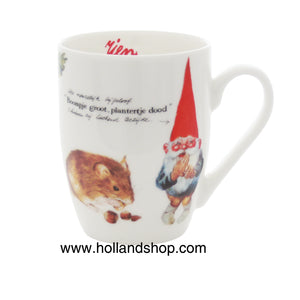 "Rien Poortvliet - Mug in Gift Box #1 (Superstition) 330mL ""Gnomes"""