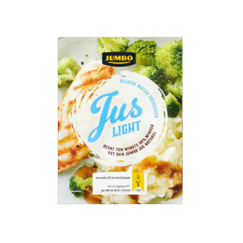 Jumbo Natural (Light) Gravy Mix - 20g.