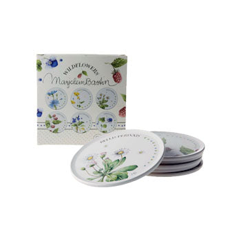 "Marjolein Bastin - Coasters (Set of 6) ""Wildflowers"""
