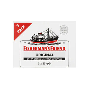 Fisherman's Friend Original (3 Pack) - 75gr.