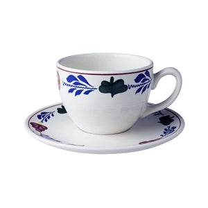 Boerenbont Cup & Saucer - Cappuccino 510mL