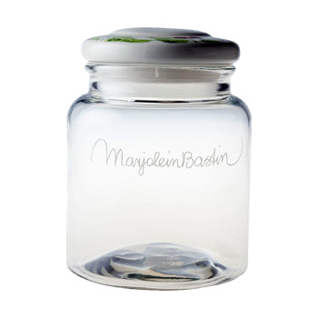 "Marjolein Bastin - Glass Storage Jar (2.5L) ""Wildflowers"""