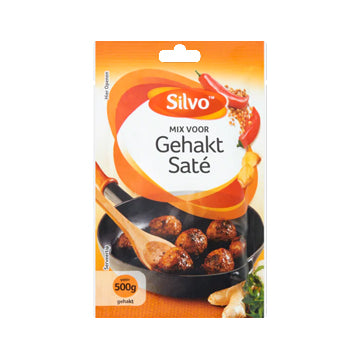 Silvo Gehakt (Ground Beef) Saté Spice Mix - 45gr.