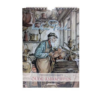 Birthday Calendar - Anton Pieck (Old Trades)