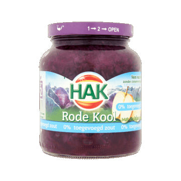 Hak Red Cabbage with Apple - 0% added salt - 355gr