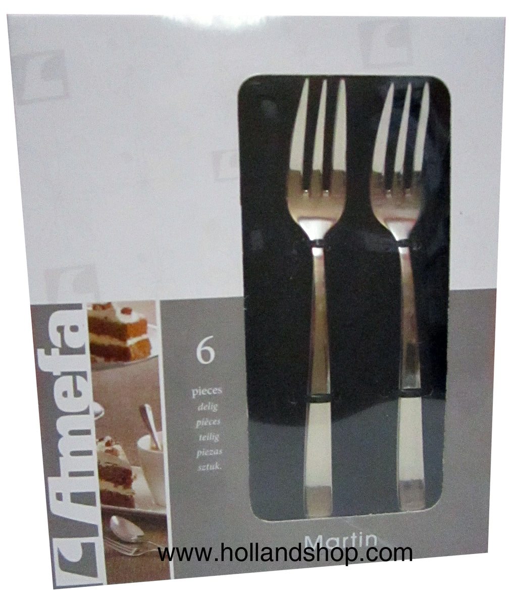 Cake Forks - Amefa Martin #1316 (Set of 6)