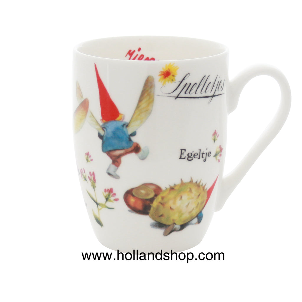 "Rien Poortvliet - Mug in Gift Box #5 (Games) 330mL ""Gnomes"""