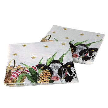 "Alie Kruse-Kolk - Napkins (Set of 20) ""Country Life"""