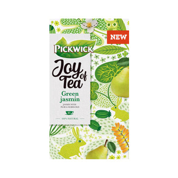 Pickwick Joy of Tea Green Jasmine - (15 bags)