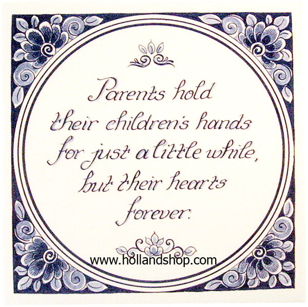 Tile - Parents Hold...