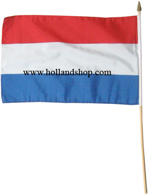 Flag - Netherlands Waving Plastic on a Stick