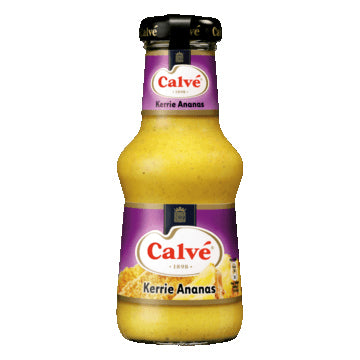 Calve Curry & Pineapple Sauce - 250ml.