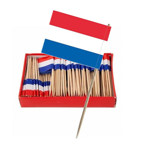 Tooth Picks - Dutch Flag (144 pieces)
