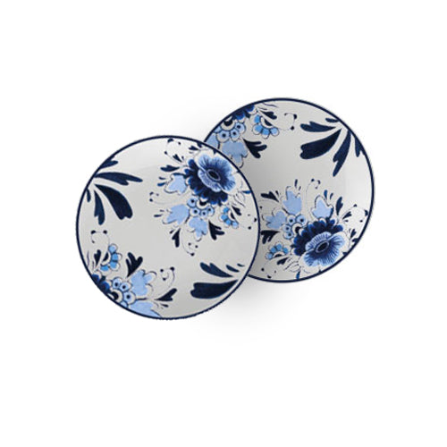 Dutch Floral - Plates (21cm) Set of 2